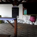 Précautions au CocoaBeach (Anse l'Etang à Tartane) - Photo : Michaël