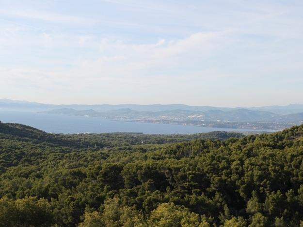 Forêt de Janas - vue sur Sanary et Bandol