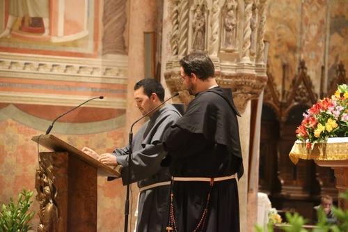 des nouvelles de fr Samuel à Assise en photo