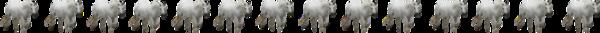 Barres séparation chevaux