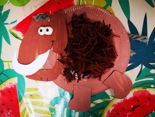 Nos mammouths assiette, version 2019