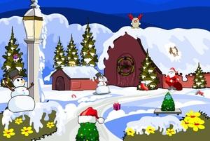 Jouer à Landscape Christmas escape