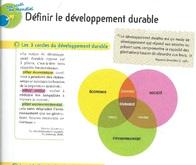 La notion de  développement durable