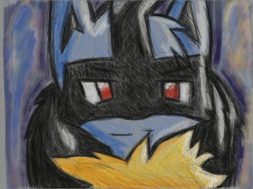 Lucario sur New Art Academy !