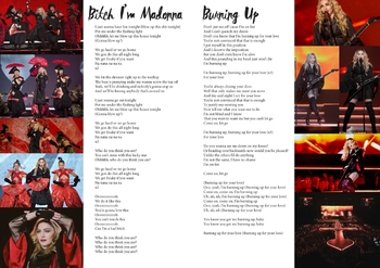 Rebel Heart Tour Lyrics Book-5
