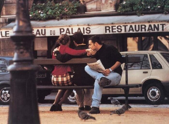Amoureux A Paris