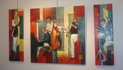 Blog de dyane : Traces de Vie, Régine Caudwell, sculptrice, Bosyni alias Syl-via Boulnois, peintre, Paule Lanternier, photographe,