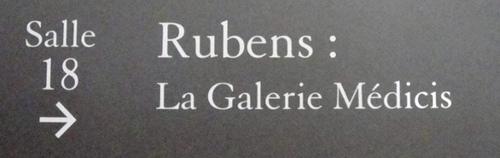 La Galerie Médicis. Le Louvre. Paris