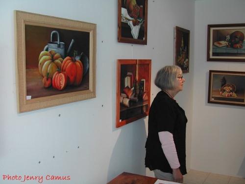 Michèle Mora expose à Recey sur Ource