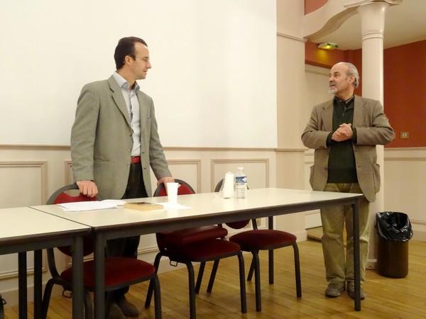 """""""Saint Bernard , Abélard et la théologie au XIIème siècle"""", une conférence de monsieur Edouard Bouyé"""