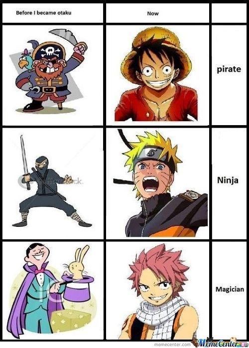 comment je voix les ... après être devenu un otaku