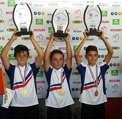 Champions et Championnes de France du CD.31