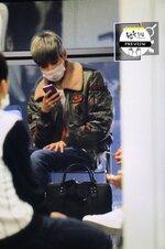29.11.2015 - Arrivée à l'aéroport d'Hong Kong