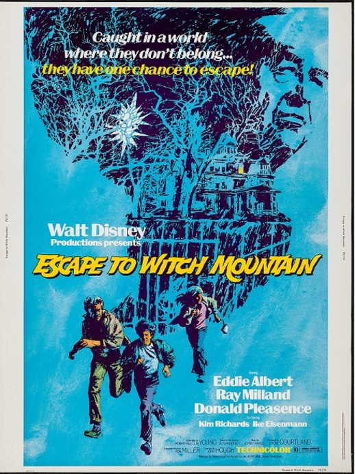 ESCAPE TO WITCH MOUNTAIN BOX OFFICE USA 1975