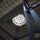La verrière du dôme dans la grande salle (2)
