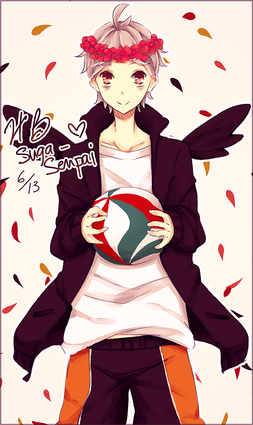 140613 Happy Birthday Suga-senpai !!