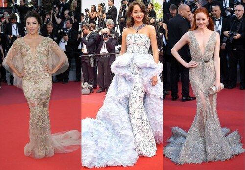 Cannes 2017 : robes de paillettes sur tapis rouge