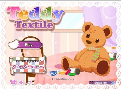 PS - MAKE a teddy-bear