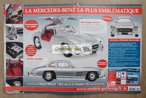 N° 1 Construisez la Mercedes-Benz 300 SL - Lancement