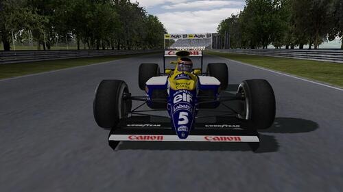 Canon Williams Renault FW13B - Renault RS2 3.5 V10