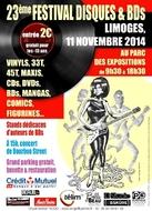 Festival disques et BD - Limoges - 2014