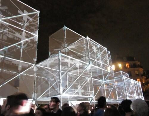 Nuit Blanche 10 3D bridge 6