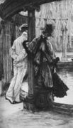 Querelle d'amoureux (Lover's tiff) - James Jacques Joseph Tissot - www.jamestissot.org