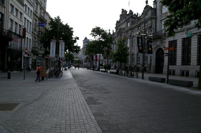 Anvers, le temps des soldes.