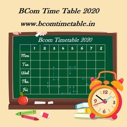 All Universities BCom Time Table 2020 – Check Here