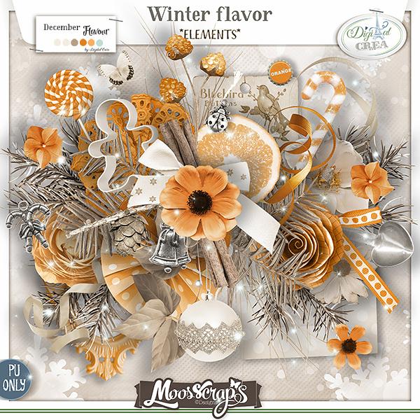 Winter flavor - elements
