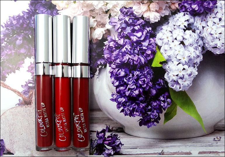 Les rouges à lèvres liquides colour pop partie 1