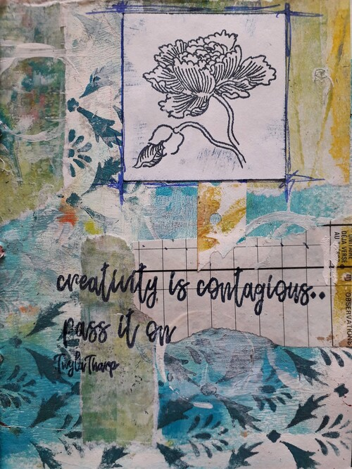 The Layered Page - Artistic Stamper stamps