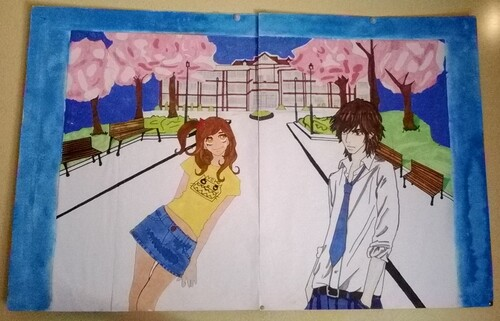 Quelques une de mes oeuvres! (manga)