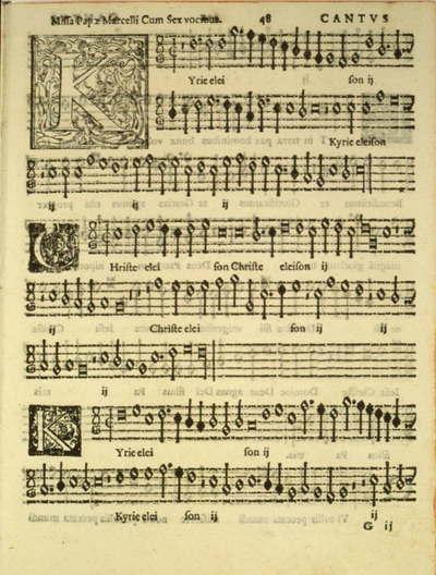 Blog de colinearcenciel :BIENVENUE DANS MON MONDE MUSICAL, UNE PARTITION ORIGINALE de PALESTRINA et UNE PAGE à DECOUVRIR