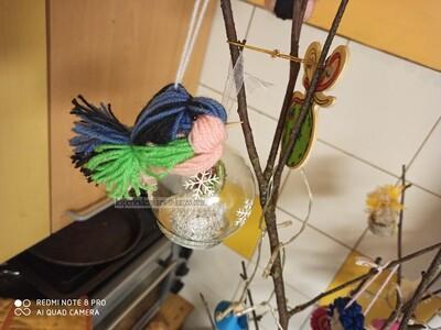 Oiseau en Laine (1)