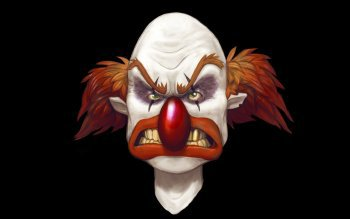 Fonds ?cran clown flippant