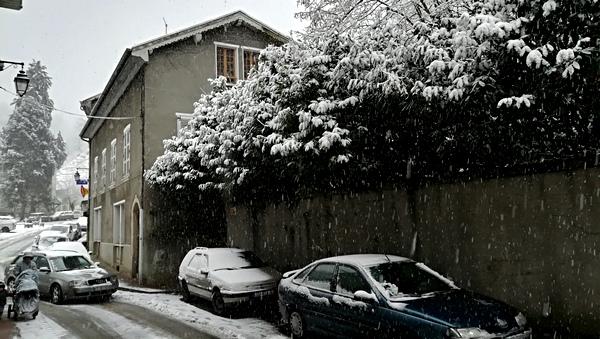 Retour au bercail sous la neige