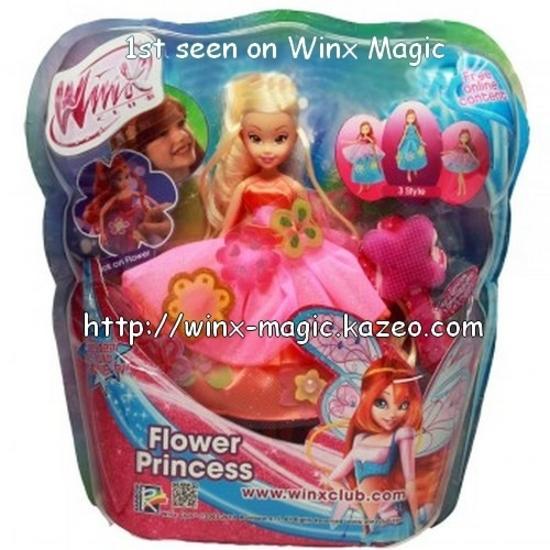 Poupée Stella Princesse des fleurs