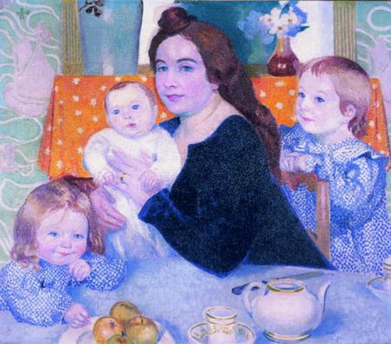 Maurice Denis, Grand Portrait de famille