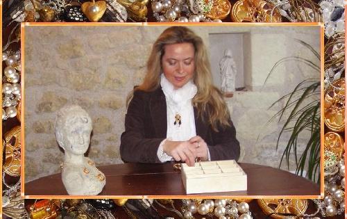 Sylvie LE BRIGANT Créatrice de bijoux country, bijoux zen, bijoux comtemporains etc...                                          Mes idées de créations de bijoux me viennent de mes voyages et de toutes ces rencontres merveilleuses que m'ont apportées mes expositions. Le domaine artistique apporte bien plus de choses que l'ont ne peut l'imaginer...