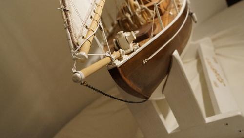 Seabird, voilier, cotre aurique, Yacht de 1910 - PARTIE 3 : model finit et sortie sur l'eau