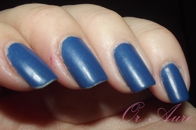 British manicure