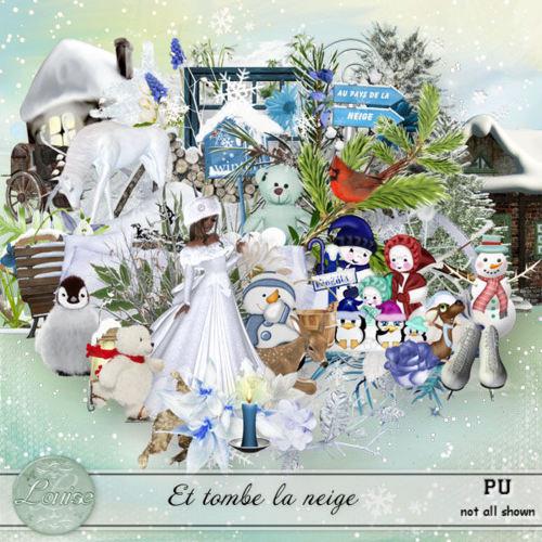 """""""Et tombe la neige"""" by Louise L"""
