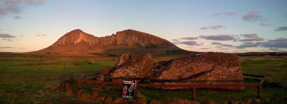 moai qui fait bronzette
