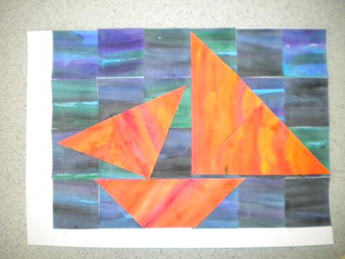 Tangram et arts plastiques