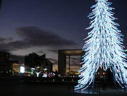 L'esprit de Noël à Paris La Défense