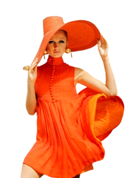 Femmes en Orange Série 6