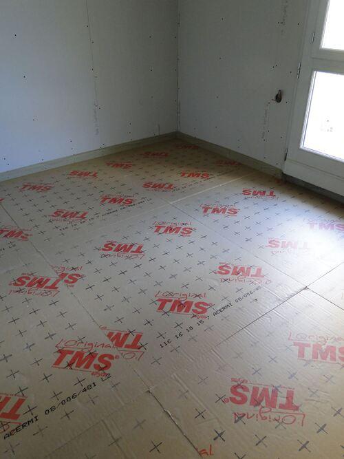 Etat des travaux des chambres annexes