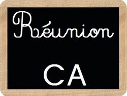 Réunion du CA