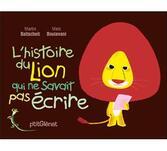 """Résultat de recherche d'images pour """"le lion qui ne savait pas écrire"""""""